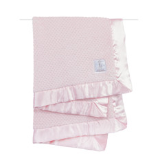 MH Baby Blanket - Honeycomb - Pink