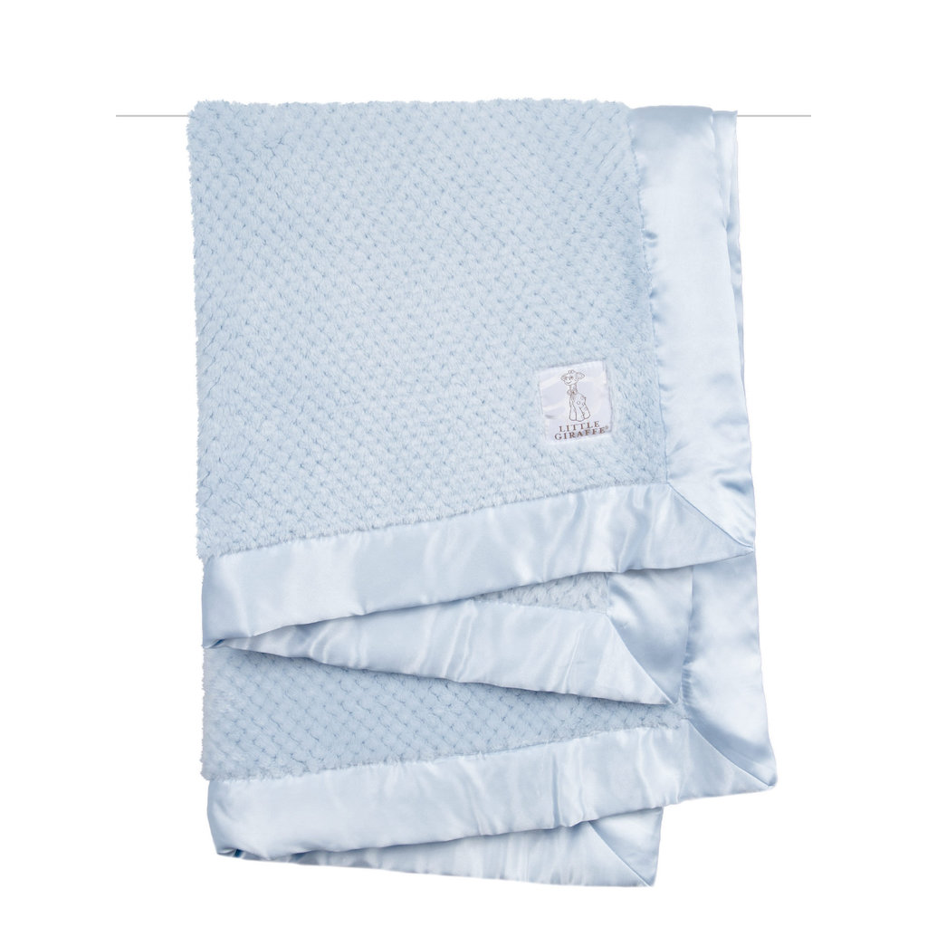 MH Baby Blanket - Honeycomb - Blue