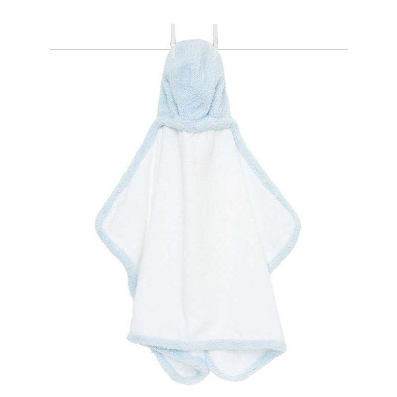 MH Hooded Towel - Chenille - Blue