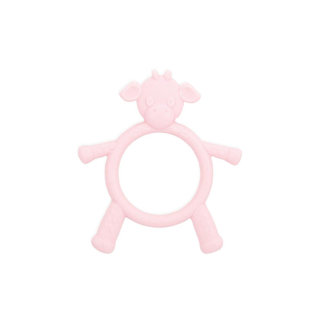 MH Teething Toy - Little G - Giraffe - Pink