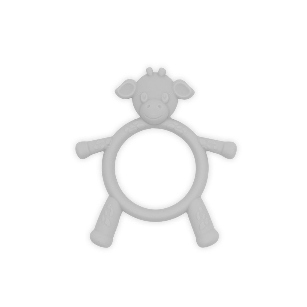 MH Teething Toy - Little G - Giraffe - Silver