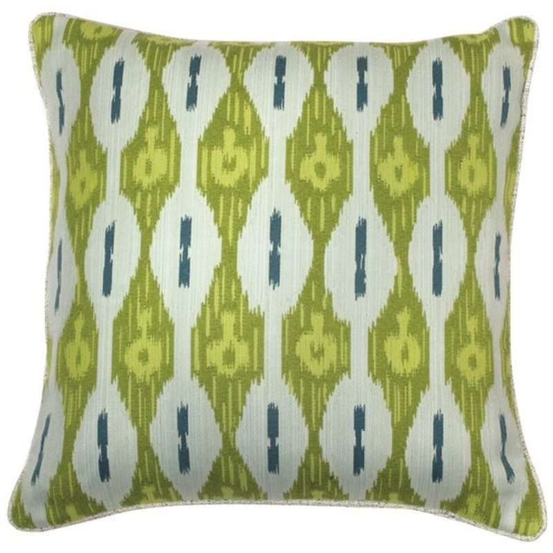 MH Kerala Indoor/Outdoor Pillow in Spa w/Brianna Pool Pipe