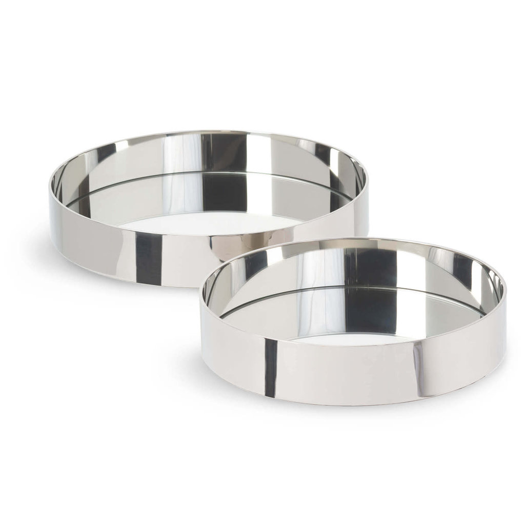 MH Tray - Round - Polished Nickel