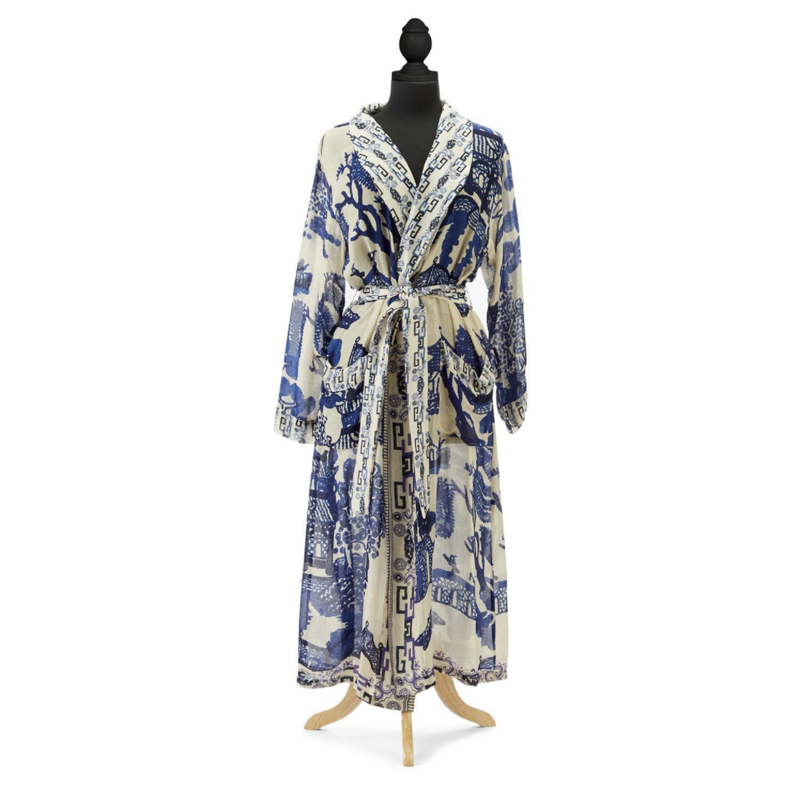 MH Robe - Giant Blue Willow Robe/Gown
