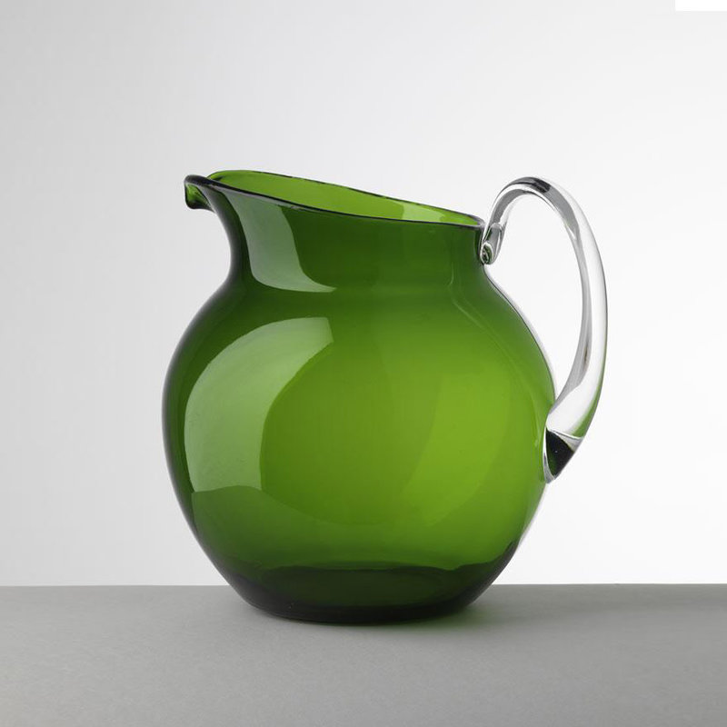 MH Pitcher - Synthetic Crystal - Palla - Transparent - Green
