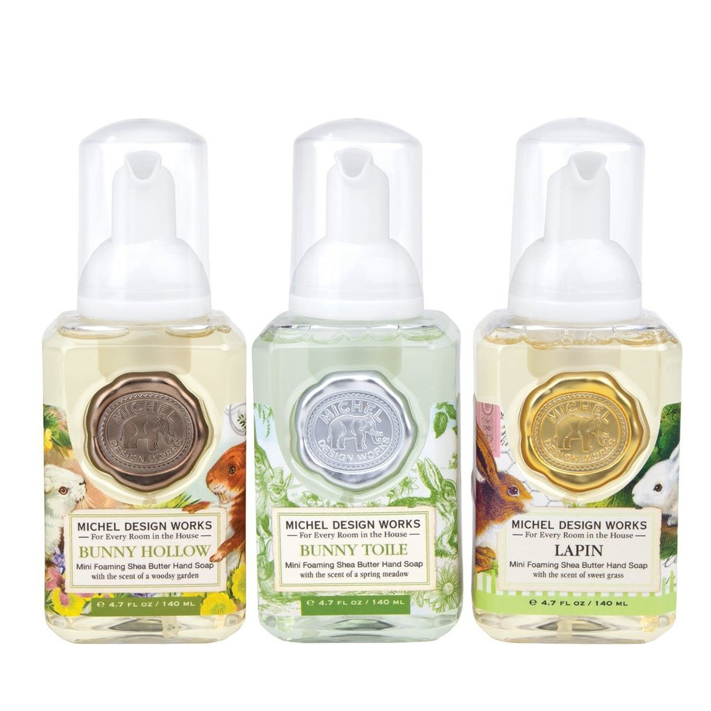 MH Set of 3 - Mini Foaming Hand Soap - Bunny Hollow/Toile/Lapin