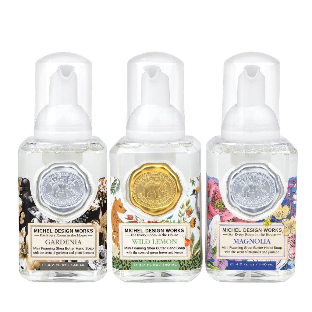 MH Set of 3 - Mini Foaming Hand Soap - Gardenia/Lemon/Magnolia