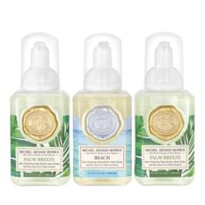 MH Set of 3 - Mini Foaming Hand Soap - Palm Breeze/Beach