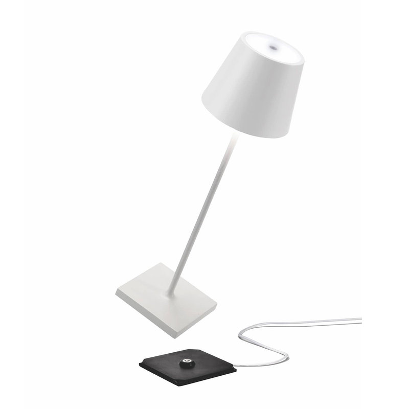 """MH Lamp - Poldina Pro - 15""""- Outdoor - Rechargeable  - White"""
