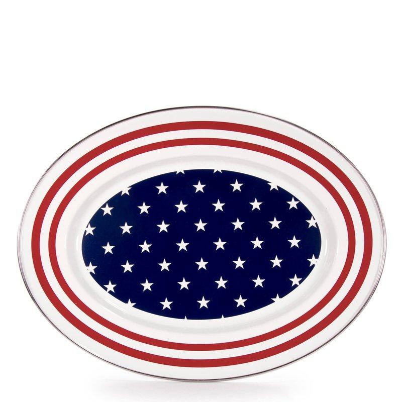 MH Stars & Stripes - Oval Platter