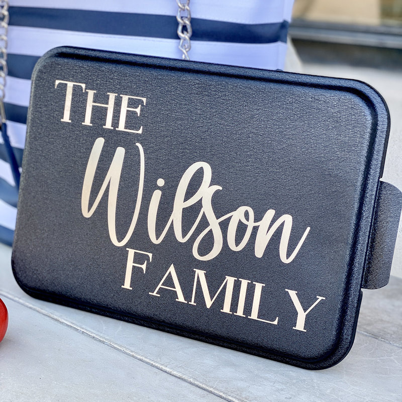 Personalized Cake Pan - Laser Engraved - More Colors