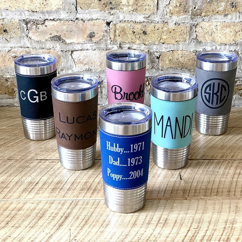 Personalized Drinkware - Laser Engraved
