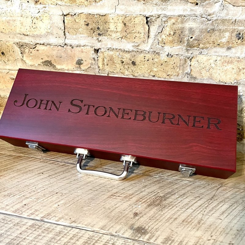 Personalized BBQ Set - Laser Engraved