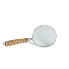MH Magnifying Glass -Yachting - Rope Handle