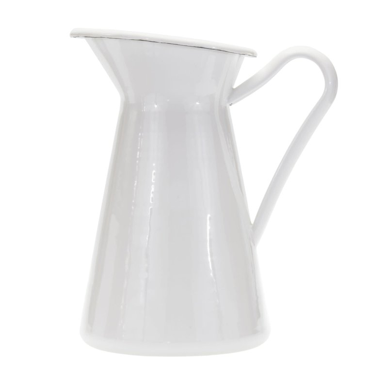 MH Solid - White - Pitcher- 3QT