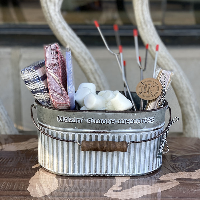MH S'mores Bucket - Divided Tin