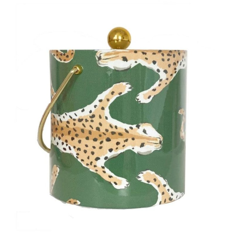 MH Ice Bucket - Leopard - Green