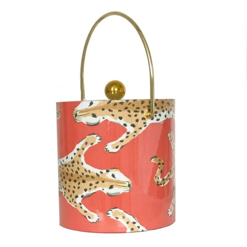 MH Ice Bucket - Leopard - Orange