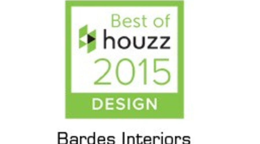 Houzz: Bardes Interiors Named Best of Houzz 2015 for Design