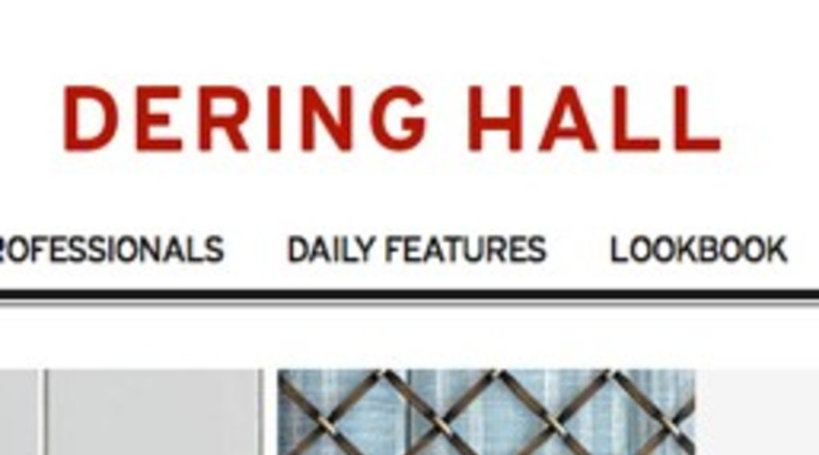 Dering Hall: Bardes Interiors featured on Dering Hall's main page!