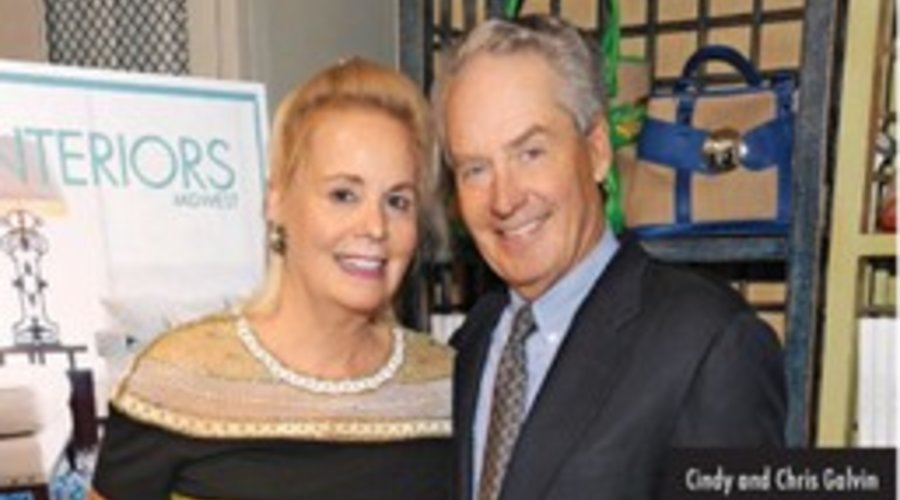 NS Magazine: Book launch party for Cindy's book, Interiors Midwest