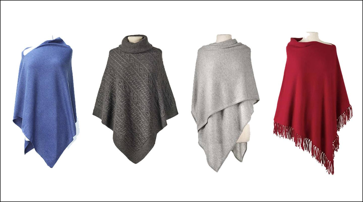 Light cashmere for transitional weather