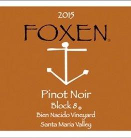 2015 Foxen Pinot Noir Bien Nacido Block 8 (750ml)