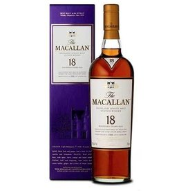 Macallan 18 yr Scotch Whisky (750ml)