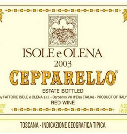 2015 Isole e Olena Cepparello (750ml)