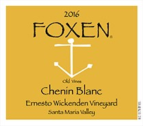 2016 Foxen Chenin Blanc Ernesto Wickenden Vineyard (750ml)