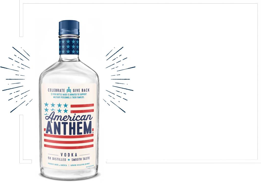 American Anthem Vodka (750ml)
