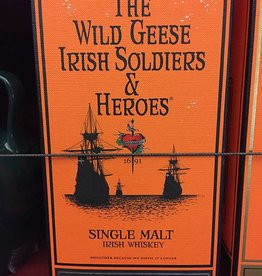 Wild Geese Soldiers & Heroes Single Malt Irish Whiskey (750ml)
