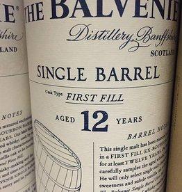 Balvenie 12 Year Doublewood Single Malt Scotch Whiskey (750ml)
