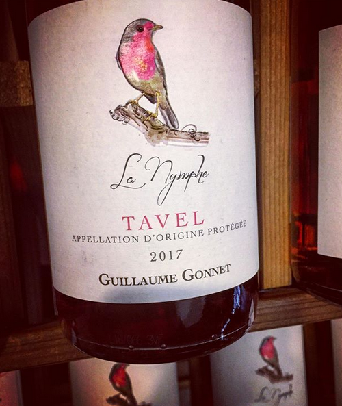 2017 Guillaume Gonnet Tavel Rosé La Nymphe (750ml)