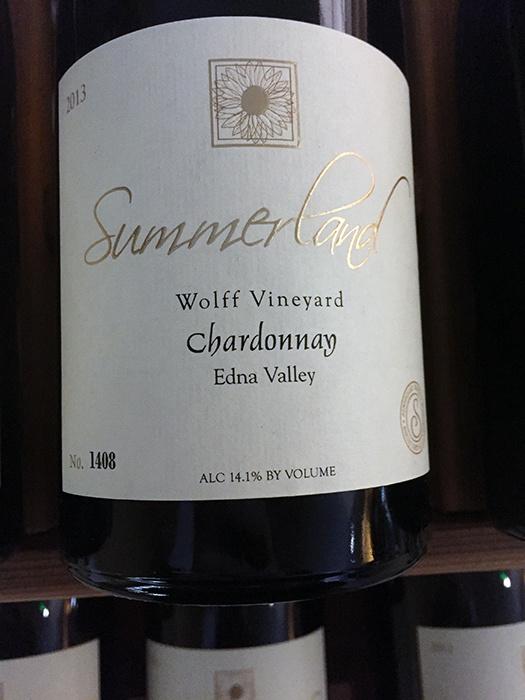 2013 Summerland Chardonnay Wolff Vineyard (750ml)