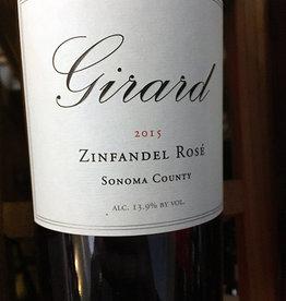 2015 Girard Zinfandel Rosé (750ml)