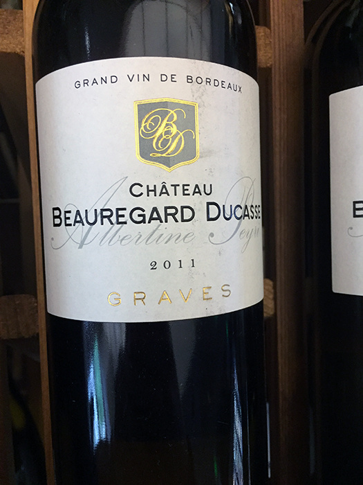 2011 Chateau Beauregard Ducasse Bordeaux Blanc (750ml)
