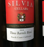 2014 Silvia Cellars Three Barrels Blend (750ml)