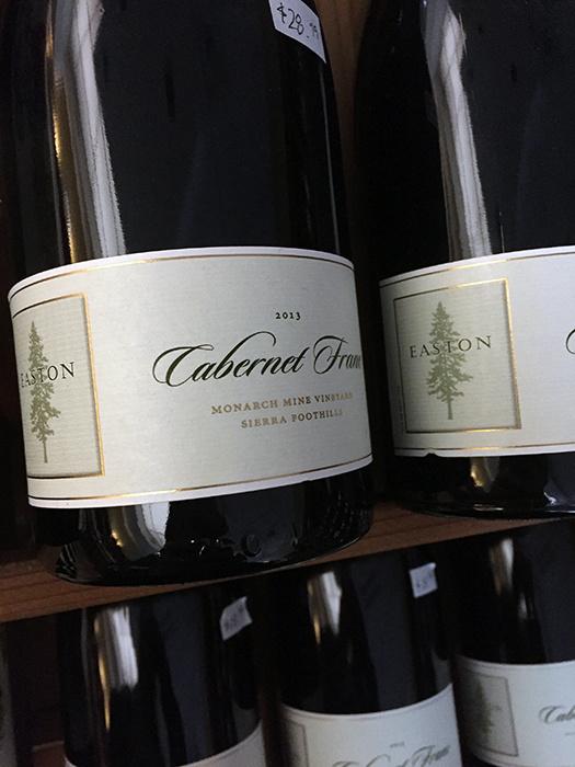2013 Easton Cabernet Franc Monarch Mine Vineyard (750ml)