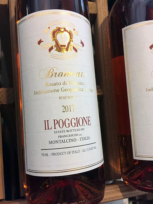 2017 Il Poggione Brancato Rosato Toscana IGT (750ml)