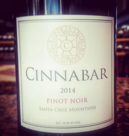 2014 Cinnabar Pinot Noir Santa Cruz Mountains (750ml)