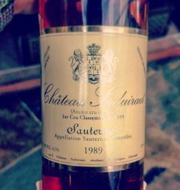 1989 Château Suduiraut Sauternes (375ml)