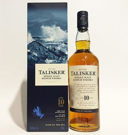 Talisker 10 Year Old Isle of Skye Single Malt Scotch Whisky (750ml)