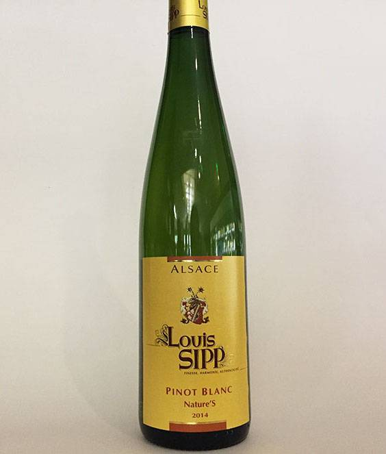2014 Louis Sipp Nature'S Pinot Blanc (750ml)