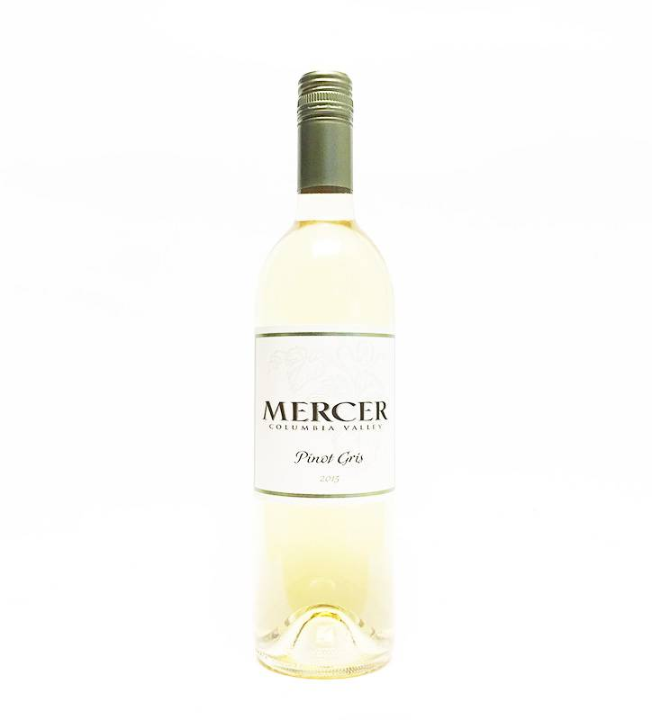 2015 Mercer Pinot Gris (750ml)