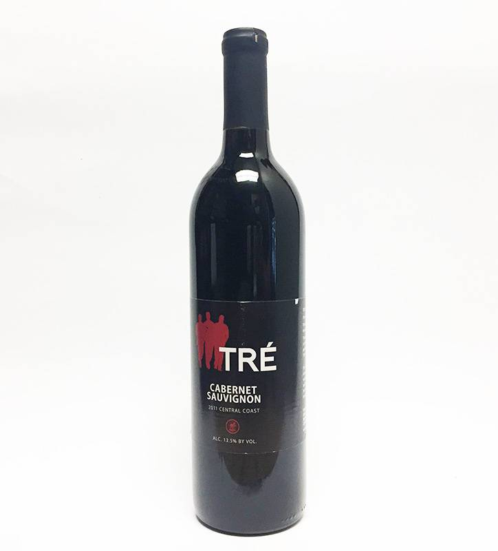 2011 Tre Cabernet Sauvignon Central Coast (750ml)