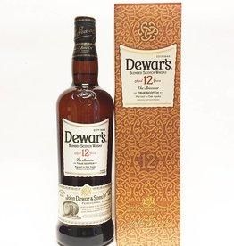 Dewar's Aged 12 yrs blended Scotch Whisky (750ml)