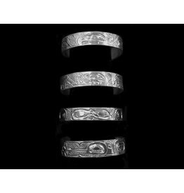 "3/8"" Silver Baby Bracelet"