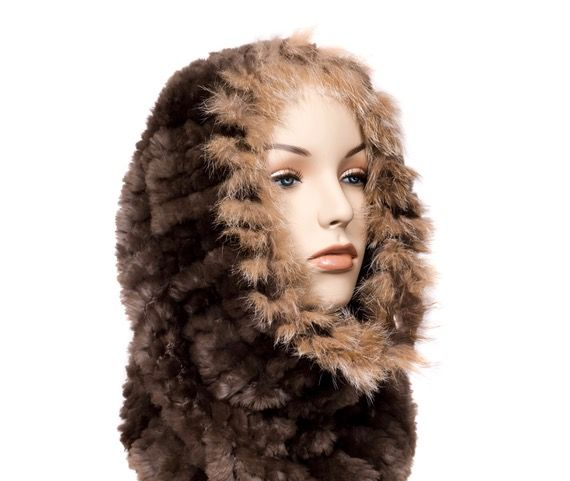 Knit Beaver Fur Accessories Created by Dene Artisans
