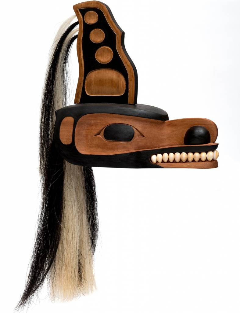 Orca Mask by Curtis Joe (Coast Salish)